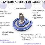 LAVORO INTERNET E IL DANNO ALLA PERSONA D Bianchi Convegno SIENA 13 marzo 2013