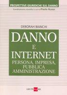 Copertina LIBRO DANNO E INTERNET