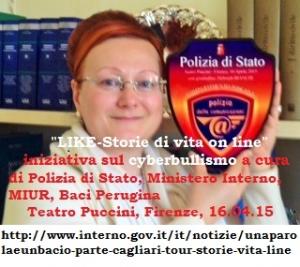 Like Storie di vite on line RICONOSCIMENTO POLIZIA POSTALE